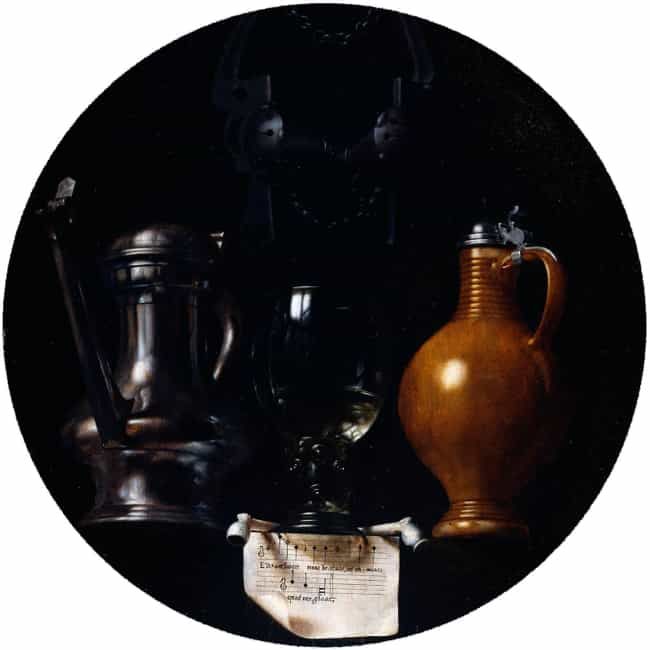 Emblematic Still Life wi... is listed (or ranked) 3 on the list Famous Still Lifes from the Dutch Golden Age Movement