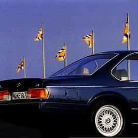 1989 BMW 6 Series Coupé