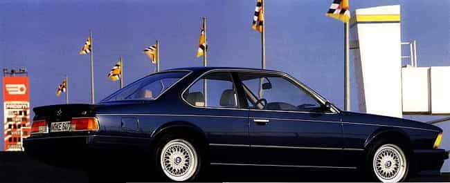 1989 BMW 6 Series Coupé is listed (or ranked) 3 on the list The Best BMW 6 Series of All Time