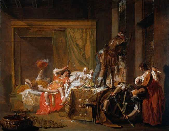Brothel Scene is listed (or ranked) 3 on the list Famous Genre Paintings from the Baroque Movement
