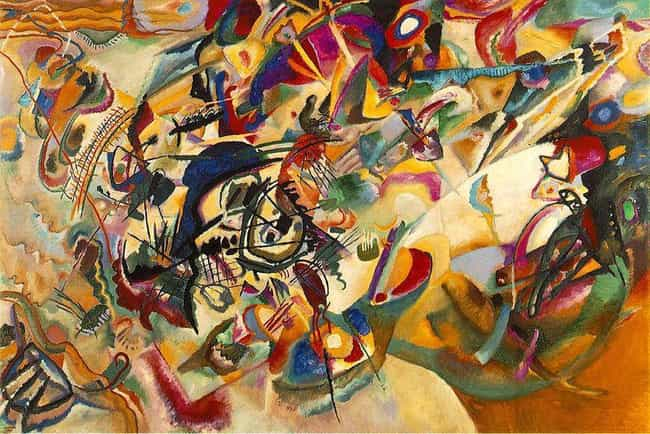Composition VII is listed (or ranked) 3 on the list Famous Wassily Kandinsky Paintings
