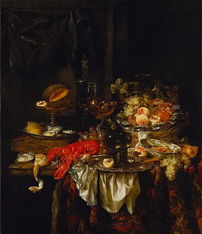 Banquet Still Life is listed (or ranked) 2 on the list List of Famous Still Life Paintings