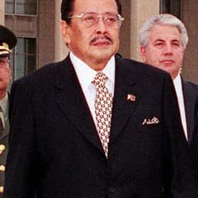 Joseph Estrada is listed (or ranked) 10 on the list Famous People From Philippines