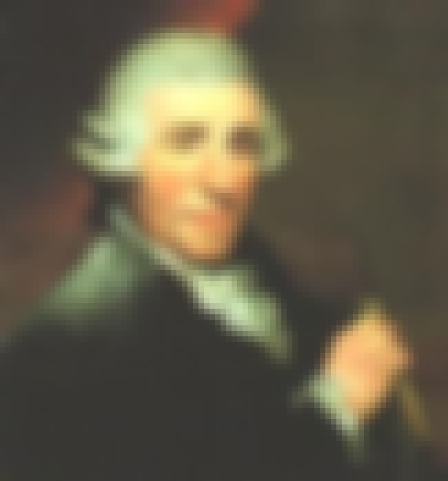 Joseph Haydn is listed (or ranked) 6 on the list List of Famous Violists