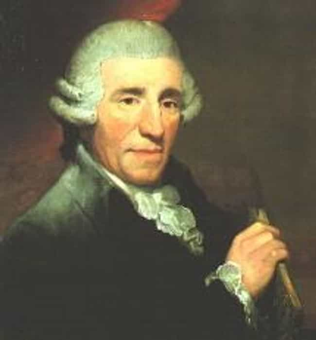 Joseph Haydn is listed (or ranked) 5 on the list Famous Male Violinists