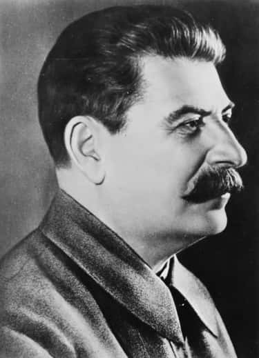 Joseph Stalin is listed (or ranked) 2 on the list Famous Male Dictators