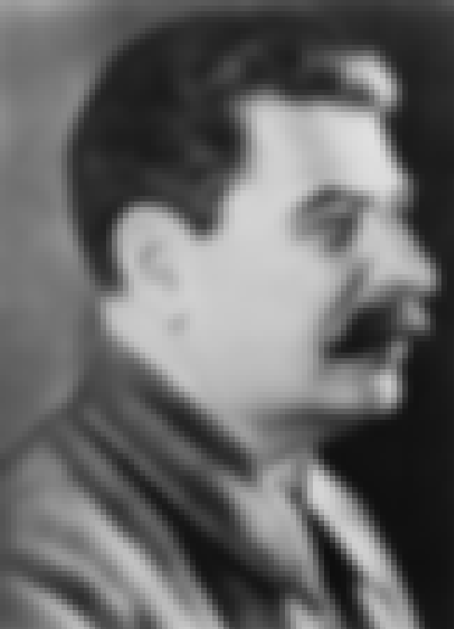 Joseph Stalin is listed (or ranked) 4 on the list Famous People Who Died of Stroke