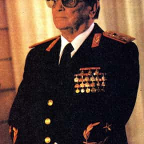 Josip Broz Tito is listed (or ranked) 5 on the list List of Famous Revolutionaries