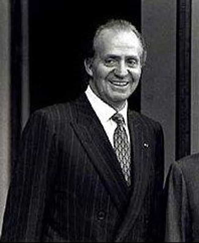Juan Carlos I of Spain ... is listed (or ranked) 3 on the list Members of the Spanish Royal Family
