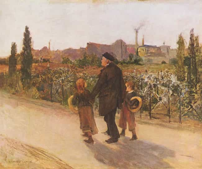 Jules Bastien-Lepage is listed (or ranked) 3 on the list Famous Naturalism Artists