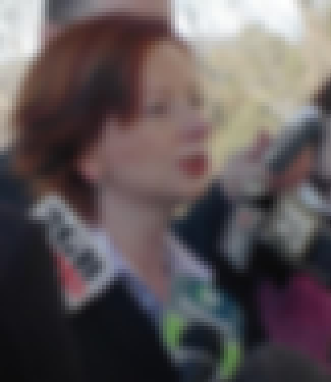 Julia Gillard is listed (or ranked) 1 on the list Famous Lawyers from Australia