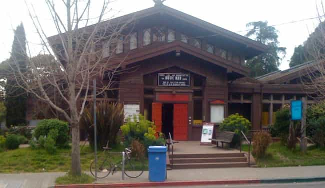 Julia Morgan Theater is listed (or ranked) 3 on the list List of Famous Berkeley Buildings & Structures