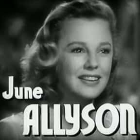 June Allyson is listed (or ranked) 6 on the list Full Cast of Till The Clouds Roll By Actors/Actresses