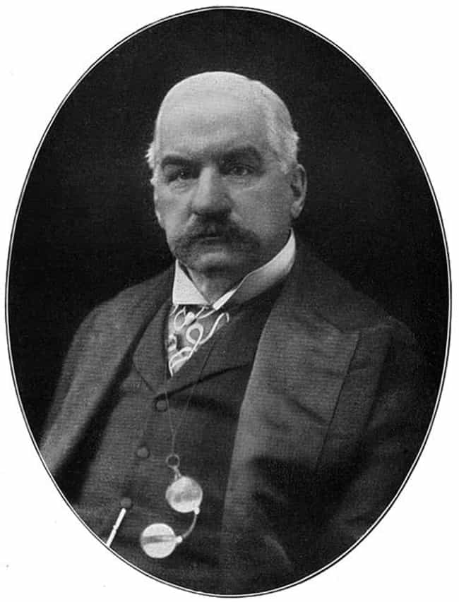 J. P. Morgan is listed (or ranked) 1 on the list Famous People Buried in Cedar Hill Cemetery