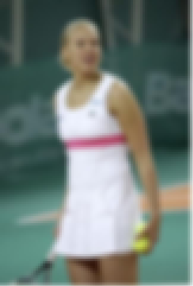Kaia Kanepi is listed (or ranked) 4 on the list Famous Female Athletes from Estonia