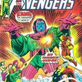 Kang the Conqueror is listed (or ranked) 15 on the list The Best Captain America Villains Ever