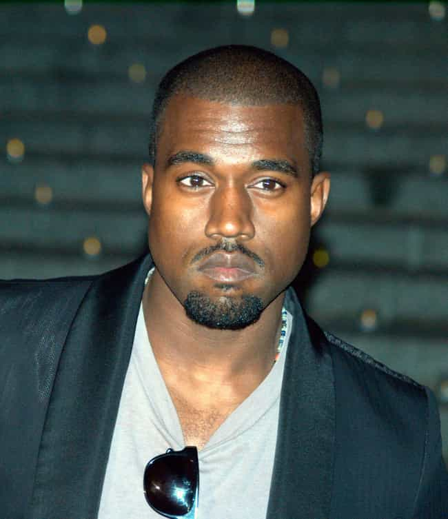 Kanye West is listed (or ranked) 3 on the list Rappers In The Illuminati