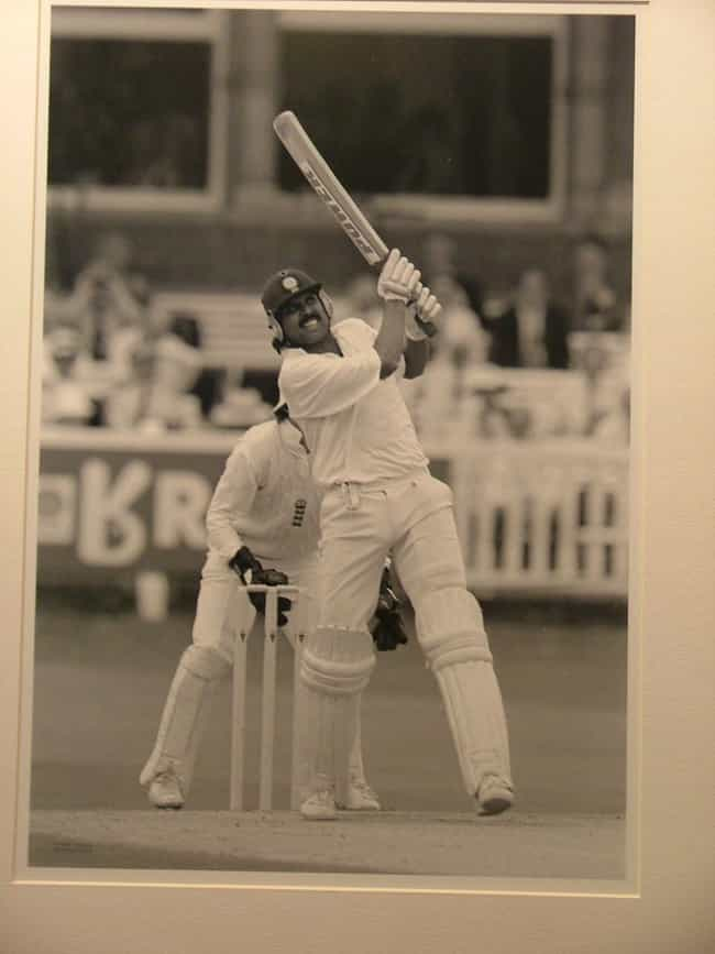Kapil Dev is listed (or ranked) 3 on the list Famous Male Cricketers