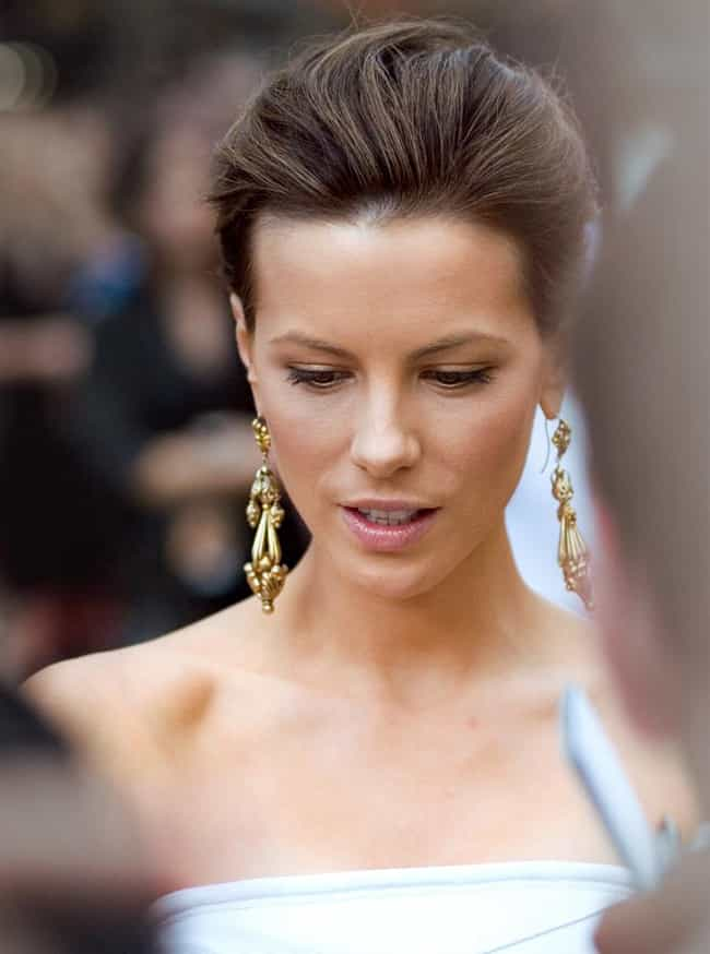 Kate Beckinsale is listed (or ranked) 3 on the list Who Should Have Been Named The World's Most Beautiful Woman?