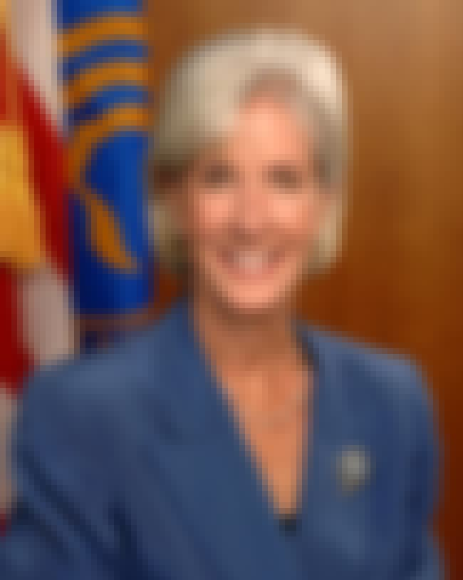 Kathleen Sebelius is listed (or ranked) 1 on the list List of Famous Legislators
