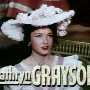 Kathryn Grayson is listed (or ranked) 12 on the list Full Cast of Till The Clouds Roll By Actors/Actresses