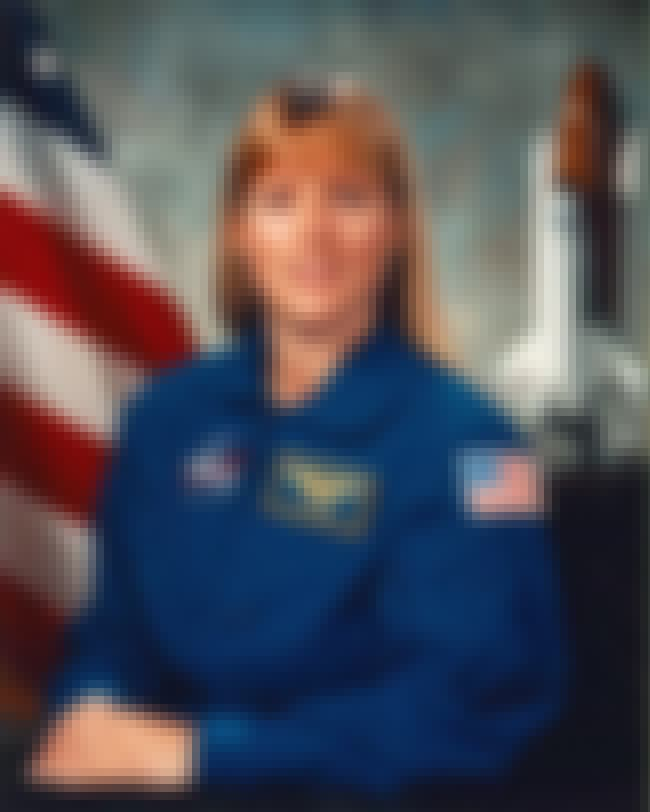 Kathryn P. Hire is listed (or ranked) 4 on the list The Hottest Lady Astronauts In NASA History