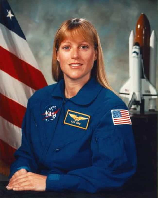 Kathryn P. Hire is listed (or ranked) 2 on the list The Hottest Lady Astronauts In NASA History