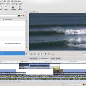 Kdenlive is listed (or ranked) 26 on the list List of Video Editing Software