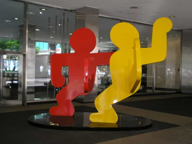 Keith Haring is listed (or ranked) 2 on the list Famous Graffiti Artists, Ranked