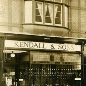 Kendall & Sons Ltd is listed (or ranked) 15 on the list Companies Founded in 1870