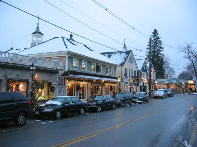 Kennebunkport is listed (or ranked) 1 on the list The All-Time Best Presidential Vacation Spots