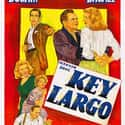 Key Largo is listed (or ranked) 22 on the list The Best '40s Thriller Movies