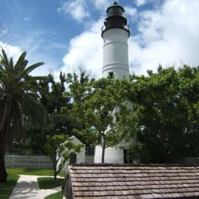 Key West lighthouse is listed (or ranked) 26 on the list Lighthouses in Florida