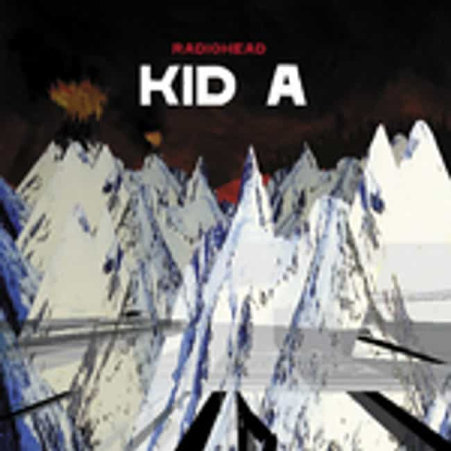 Kid A is listed (or ranked) 3 on the list The Top 20 Indie Albums of All Time