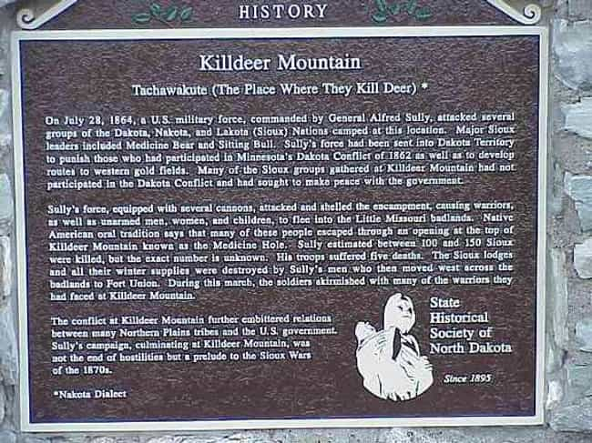 Battle of Killdeer Mount... is listed (or ranked) 4 on the list List Of Sioux Wars Battles