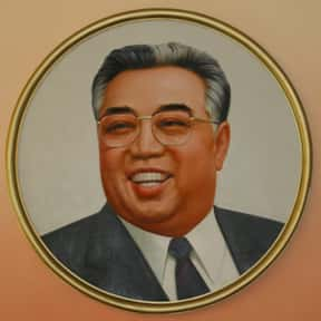 Kim Il-sung is listed (or ranked) 15 on the list List of Famous Dictators