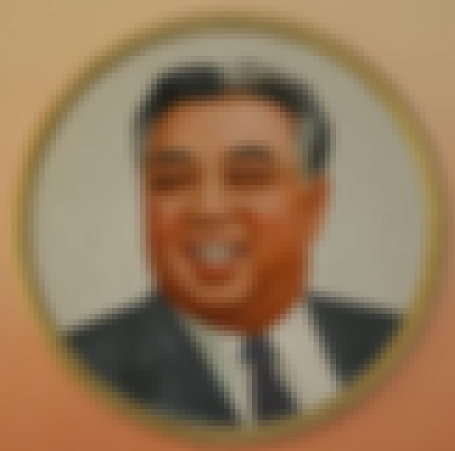 Kim Il-sung is listed (or ranked) 1 on the list Famous Male Rebels