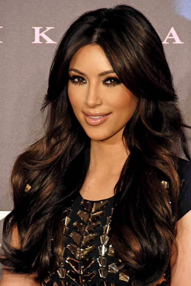 Kim Kardashian is listed (or ranked) 1 on the list Celebrity Dodger Fans