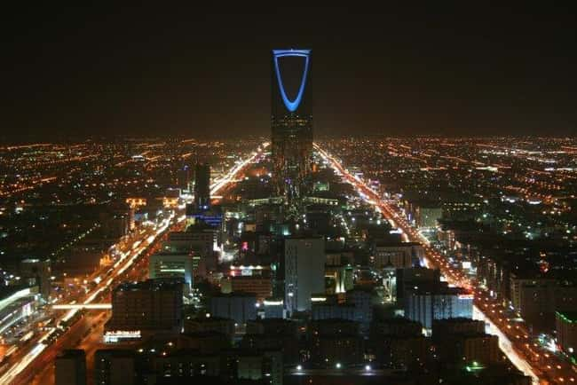 Kingdom Centre is listed (or ranked) 10 on the list Saudi Arabia Architecture: Famous Landmarks and Buildings