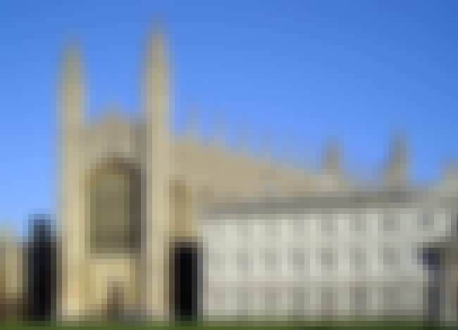 King's College Chapel, Cambrid... is listed (or ranked) 4 on the list List of Reginald Ely Architecture