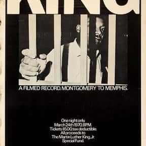 King: A Filmed Record... Montg is listed (or ranked) 5 on the list The Best Martin Luther King Jr. Movies, Ranked