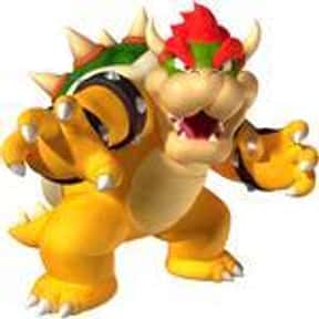 King Koopa is listed (or ranked) 1 on the list The Best Characters in the Super Mario Universe