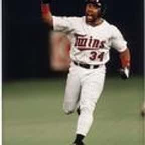 Kirby Puckett is listed (or ranked) 16 on the list List of Famous Baseball Center Fielders