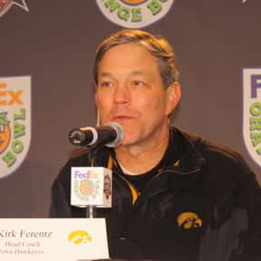 Kirk Ferentz is listed (or ranked) 14 on the list The Best Current College Football Coaches