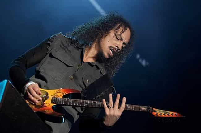 Kirk Hammett is listed (or ranked) 2 on the list Famous Guitarists from San Francisco
