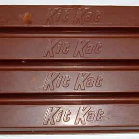 Kit Kat is listed (or ranked) 6 on the list The Best Movie Theater Snacks