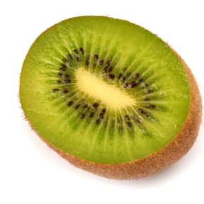 Kiwifruit is listed (or ranked) 11 on the list Low Fat foods