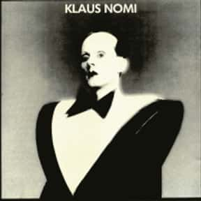 Klaus Nomi is listed (or ranked) 18 on the list The Best Cabaret Bands/Artists