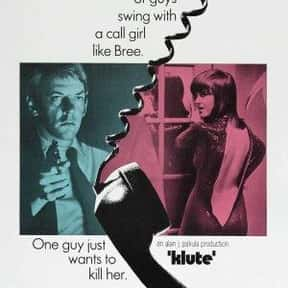 Klute is listed (or ranked) 9 on the list The Best Donald Sutherland Movies