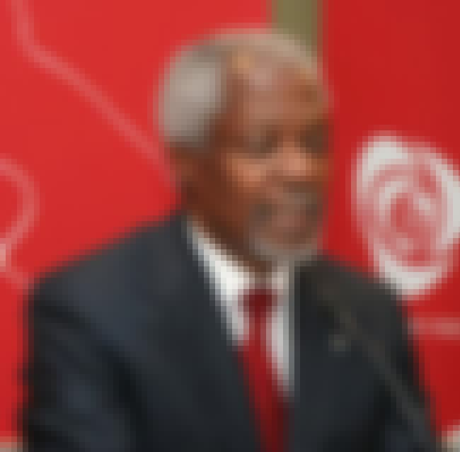 Kofi Annan is listed (or ranked) 1 on the list Famous Kwame Nkrumah University Of Science And Technology Alumni